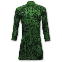 Exclusive Festive Collection Printed Panjabi MH51 - Green