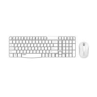 Rapoo X1800S  Wireless Optical Mouse & Keyboard White