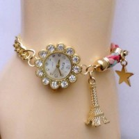 Eiffel Tower Ladies Bracelet Watch