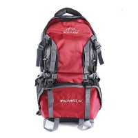 Willpower Hiking Backpack  Red