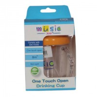 Music One Touch Open Drinking Cup