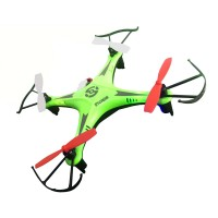 Baby Four Axis Rechargeable Drone Green