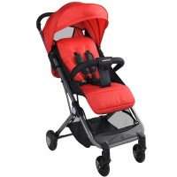 BAOBAOHAO Y1 YOGA Cabin One Pull Baby Stroller BBH177 RED
