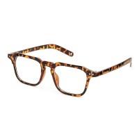 Leopard Vintage Retro Spectacles Clear Lens Eyewear