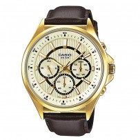 Casio Enticer Analog Multi-Color Dial Men's Watch  MTP E303GL 9AVDF