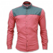 RED STAR Mixed Cotton Casual Shirt RS03S