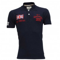 Abercrombie & Fitch Polo Shirt SB15P Navy Blue