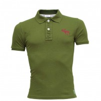 Abercrombie & Fitch Polo Shirt SB19P Olive