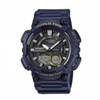 Casio Black dial Analogue And Digital Watch AEQ 110W 2AVDF