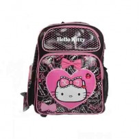 Hello Kitty School Bag(Black)
