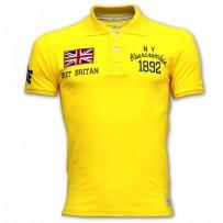 Abercrombie & Fitch Polo Shirt SB04P Yellow