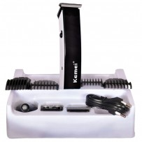 Kemei KM 3580 4 in 1 Rechargeable Professional Grooming Kit - Black