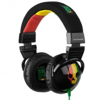 Skull Candy Hash Raste Replica Headphones Green