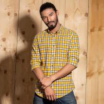 OBTAIN Premium Slim Fit Printed Casual Shirt OL5308