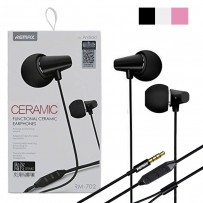 Original REMAX RM-702 Ceramic Earphone Black/ White/Pink