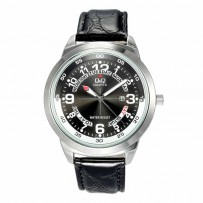 Q&Q A148J305Y Standard Analog Black Dial Men's Watch