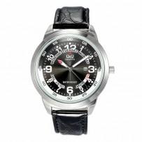 Q&Q A148J305Y Standard Analog Black Dial Men's Watch