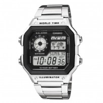 CASIO Youth Black Dial Men's Watch AE 1200WHD 1AVDF
