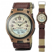 CASIO Analog Digital Telememo Illuminator Men's Watch AW 80V 5BV