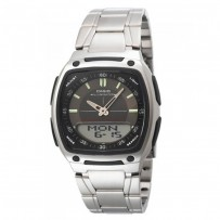 CASIO Men's Youth Combination Analog-Digital Watch AW 81D 1AVDF