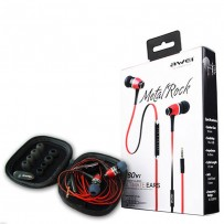 Original AWEI S80vi Metal Rock In- Earphone with Mic Volume Control