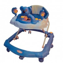 BabyLand Teddy Baby Walker - W2807 Blue