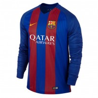 FC Barcelona Full Sleeve Home Jersey 2016-17