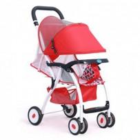 BAOBAOHAO 711-B160 Light Weight Baby Stroller BBH104 : Red