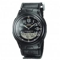 CASIO Men's Classic Alarm Chronograph Watch AW 80V 1BVEF