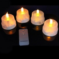 LED Flashing Candle With Remote