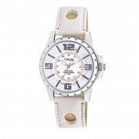 Q&Q DA18J304Y Analog White Dial Men's Watch