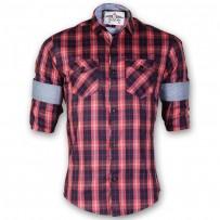 DEVIL Pure Cotton Casual Check Shirt DE121