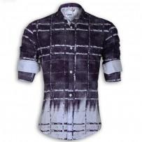 DEVIL Pure Cotton Casual Printed Shirt DE125