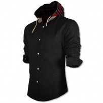 Devil Light Hooded Shirt DE746