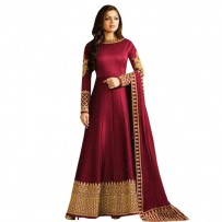 Heavy Designer Party Wear Long Anarkali WF051