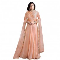 Drashti Dhami Georgette Embroidered Anarkali Suit WF052