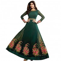 Deep Green Anarkali Suits For Women WF084