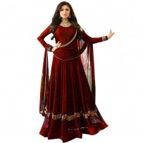Merun Drashti Dhami Anarkali Suits For Women WF090