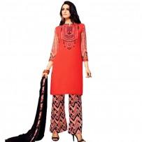 Exclusive Eid Special Designer Embroidered Cotton Salwar Suits WF019