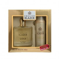 English Blazer Gift Set (Gold)