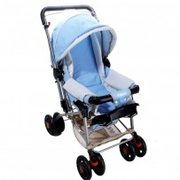 Farlin BF 889B Baby Stroller - Sky Blue