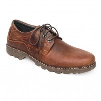 Chocolate Full Leather Casual Boot FFS407