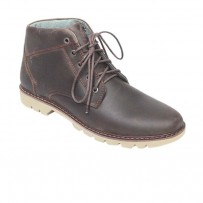Coffee Full Leather Casual Boot FFS410