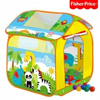 Fisher-Price  Forest Dream Tent House With 50 Soft Flex Balls FPT105