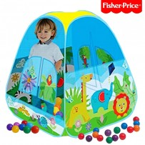 Fisher-Price Joy Tent Nature With 40 Soft Flex Balls FPT103