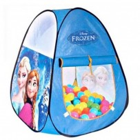 Frozen Kids Adventure Ball House With 50 Soft Flex Balls AJC212