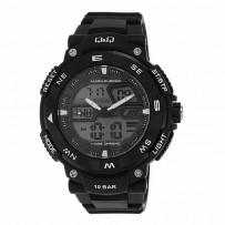 Q&Q Regular GW85J001Y Analog Digital White Dial Men's Watch