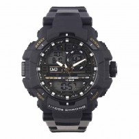 Q&Q GW86J004Y Analog Digital Black Dial Men's Watches