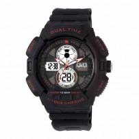 Q&Q GW81J002Y Regular Analog-Digital Black Dial Men's Watch