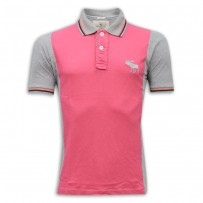 Abercrombie & Fitch Polo Shirt MH28P Dreep Prink & Ash